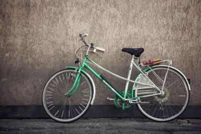 wall-sport-green-bike